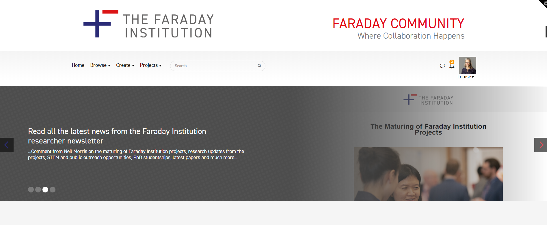 faraday dot community